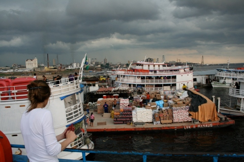 Habour in Manaus