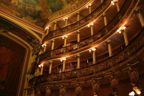 The Amazon Theatre in Manaus