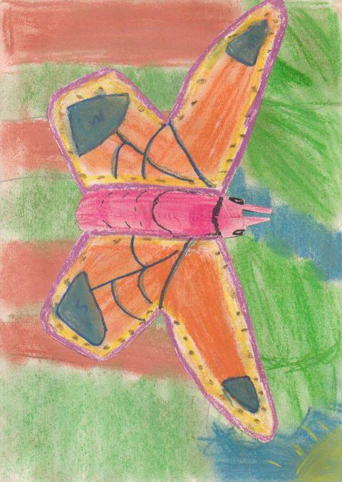 Abigail Stevenson - Y5 - Butterfly