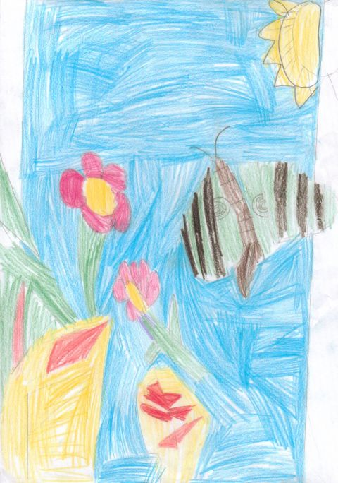 Hope Overend - Y3 - butterfly
