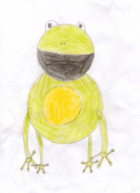 Jayden T - Y3 - frog
