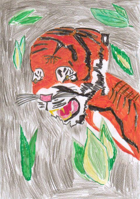 Leah H - Y5 - Tiger
