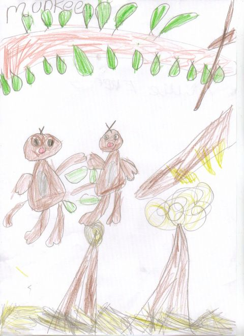 Millie Eveny - Y1 - monkeys