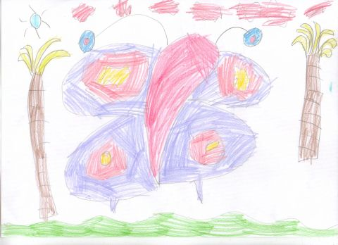 Niamh Parnell Taill - Y1 - Butterfly