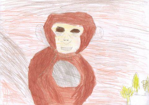 Rebecca L - Y6 - monkey