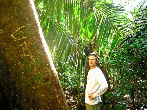 Dave in the Amazon Rainforest