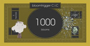 1000 blooms note