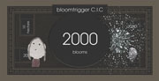 2000 blooms note