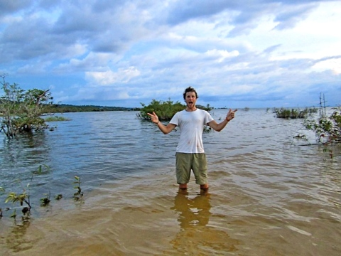 Dave in the Amazon