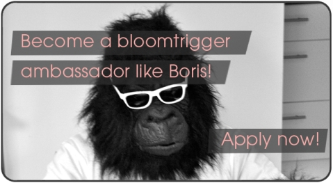 Become a bloomtrigger ambassador like Boris