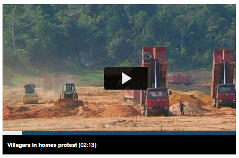 Cambodian deforestation by China Reuters video play