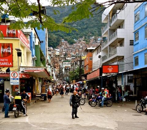 Favela da Rocinha do Rio