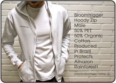Bloomtrigger Male Hoody Zip