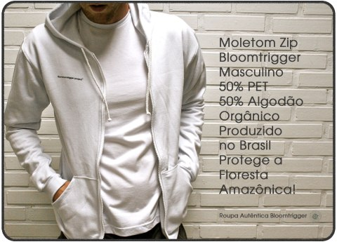 Moletom Zip Bloomtrigger Masculino