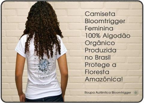 Camiseta Bloomtrigger Feminina