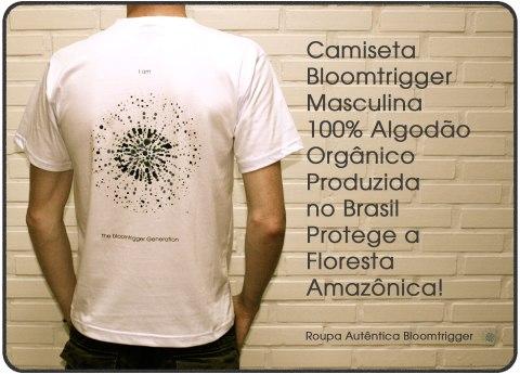 Camiseta Bloomtrigger masculina